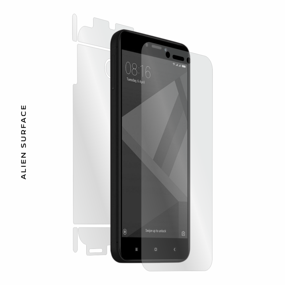 Xiaomi Redmi 4X folie protectie Alien Surface