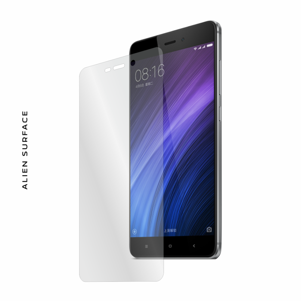 Xiaomi Redmi 4 Prime folie protectie Alien Surface
