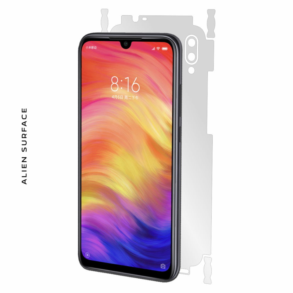 Xiaomi Redmi Note 7S folie protectie Alien Surface