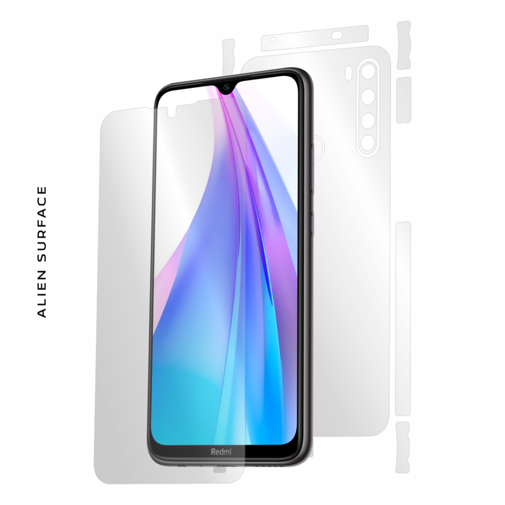 Xiaomi Redmi Note 8T folie protectie Alien Surface