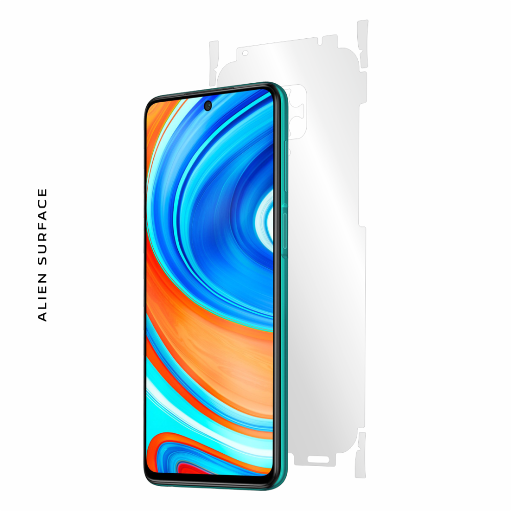 Xiaomi Redmi Note 9 Pro folie protectie Alien Surface