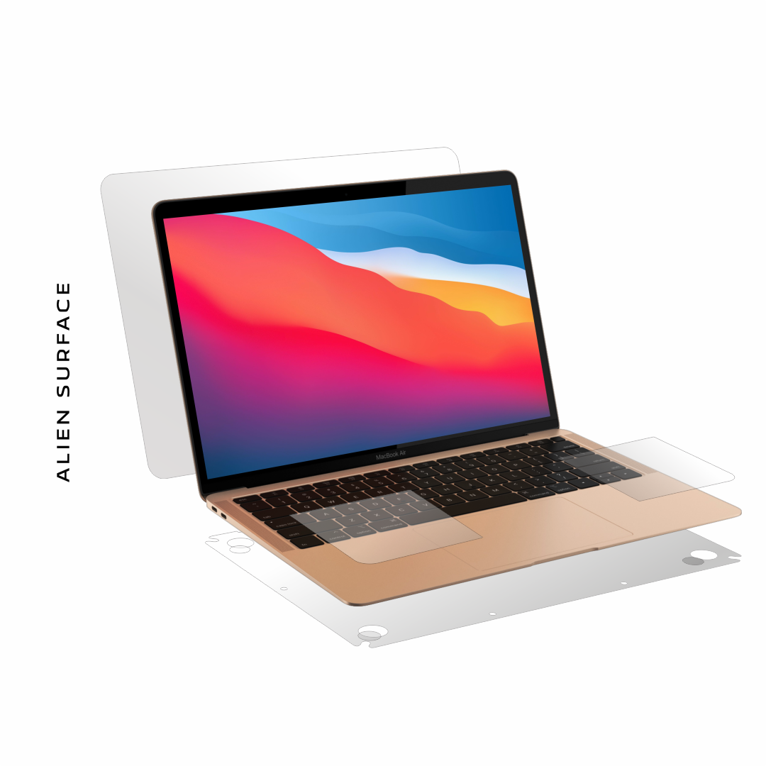 Apple MacBook Air M1 13 inch (2021) folie protectie Alien ...