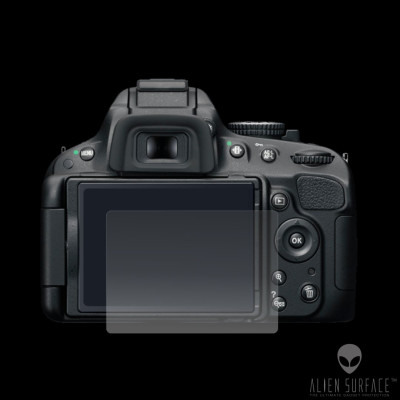 Nikon D5100 folie protectie ecran Alien Surface HD