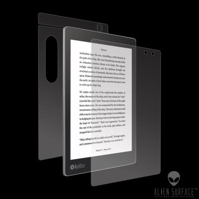 Kobo Aura One 7.8olie protectie ecran, carcasa, laterale Alien Surface