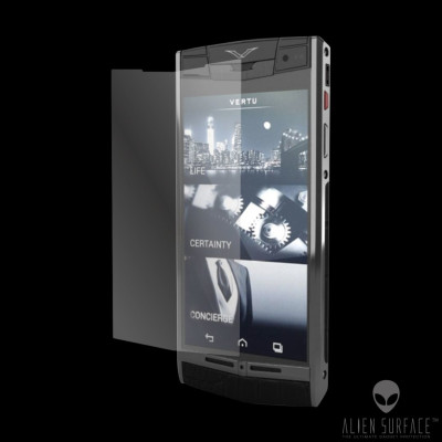 Vertu Signature Touch folie protectie ecran Alien Surface