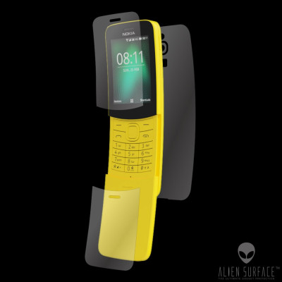 Nokia 8110 4G (2018) folie ecran, flip, spate