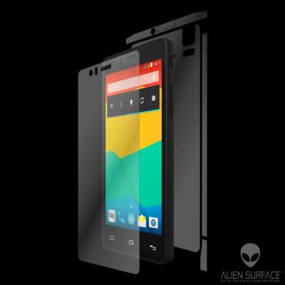 BQ Aquaris E5s folie protectie Alien Surface HD ecran, spate, laterale