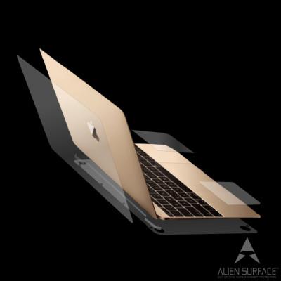 Apple MacBook 12 inch folie protectie completa Alien Surface
