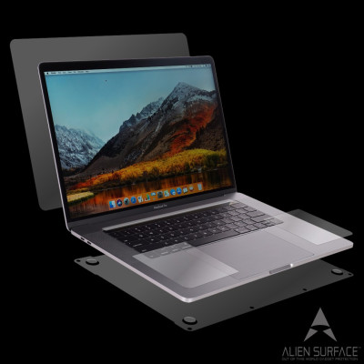 Apple MacBook Pro 15 inch Retina 2013-2015 folie protectie Alien Surface