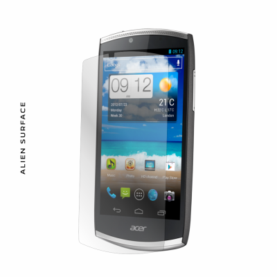 Acer CloudMobile S500 folie protectie Alien Surface