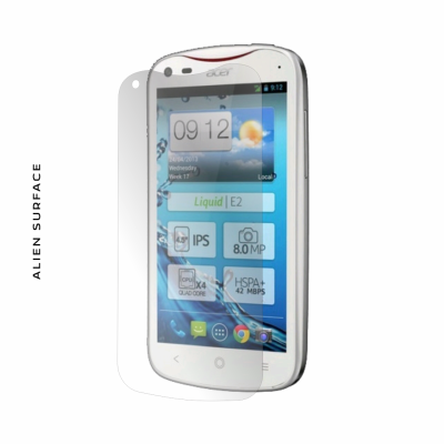 Acer Liquid E2 Duo folie protectie Alien Surface