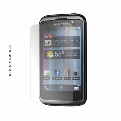 Alcatel One Touch 991 folie protectie Alien Surface