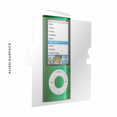 Apple iPod Nano 4G folie protectie Alien Surface