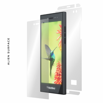 BlackBerry Leap folie protectie Alien Surface