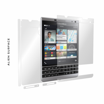 BlackBerry Passport Dallas folie protectie Alien Surface