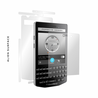 BlackBerry Porsche Design P9983 folie protectie Alien Surface