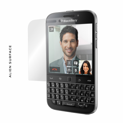 BlackBerry Q20 folie protectie Alien Surface