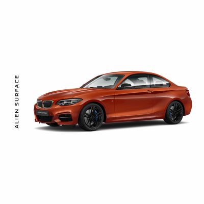 BMW Seria 2 (2019) Multimedia set folie protectie Alien Surface