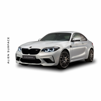 BMW M2 (2019) Multimedia set folie protectie Alien Surface