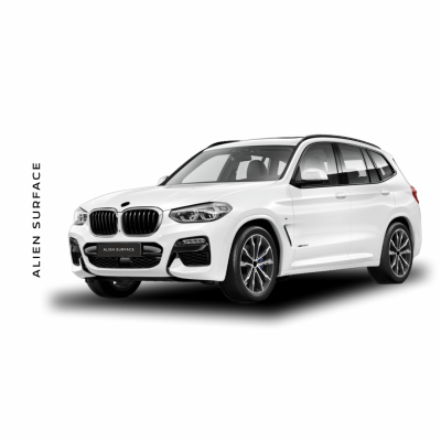 BMW X4 Multimedia set folie protectie Alien Surface
