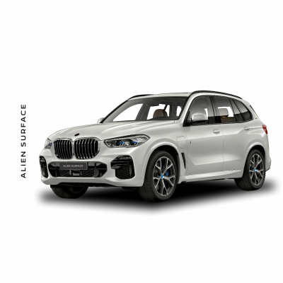 BMW X5 (2019) Multimedia set folie protectie Alien Surface