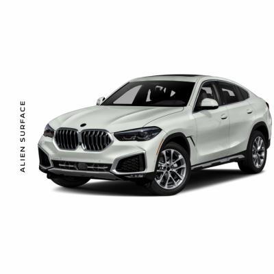 BMW X6 Competition (2020) set folie protectie Alien Surface