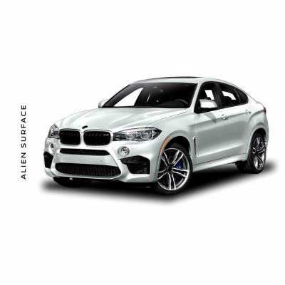 BMW X6 Multimedia set folie protectie Alien Surface