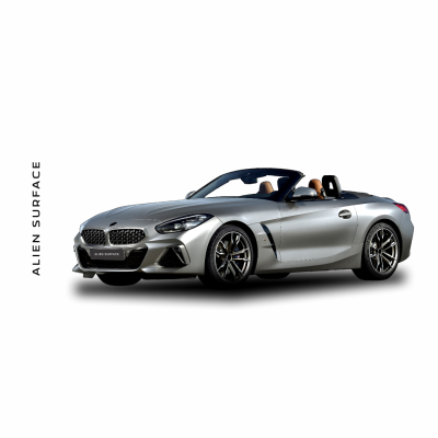 BMW Z4 (2019) Multimedia set folie protectie Alien Surface