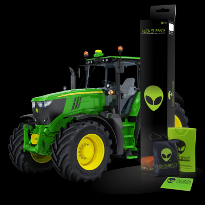 Display Geenstar 3 2630 by John Deere folie protectie Alien Surface