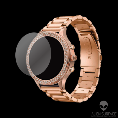 Fossil Smartwatch Q Venture Gen 4 Rose Gold folie protectie Alien Surface