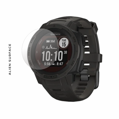 Garmin Instinct Solar (Graphite, Tidal blue, Orchid, Sunburst, Flame Red) folie protectie Alien Surface