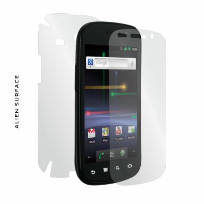 Google Nexus S folie protectie Alien Surface