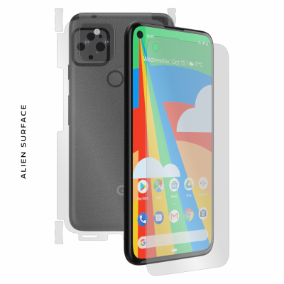 Google Pixel 5 folie protectie Alien Surface