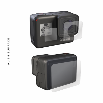 GoPro Hero 5 Black Edition folie protectie Alien Surface