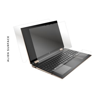 HP Spectre X360 15 inch folie protectie Alien Surface