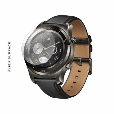 Huawei Watch 2 Titanium Grey folie protectie Alien Surface