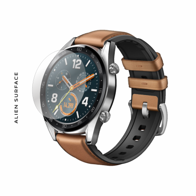 Huawei Watch GT 46mm Saddle Brown folie protectie Alien Surface