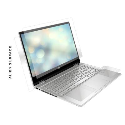 Laptop 2 in 1 HP Pavillion X360 14 inch folie protectie Alien Surface