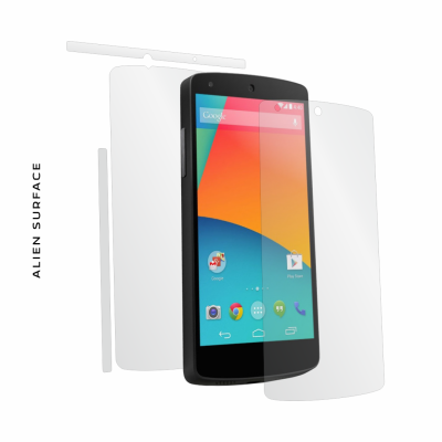 LG Google Nexus 5 folie protectie Alien Surface
