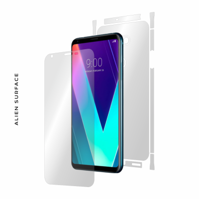 LG V30S ThinQ folie protectie Alien Surface