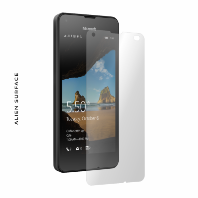 Microsoft Lumia 550 folie protectie Alien Surface
