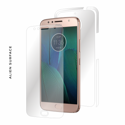 Motorola Moto G5S Plus folie protectie Alien Surface