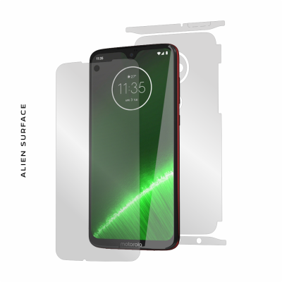 Motorola Moto G7 Plus folie protectie Alien Surface