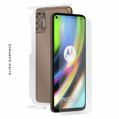 Motorola Moto G9 Plus folie protectie Alien Surface