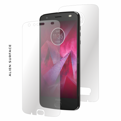 Motorola Moto Z2 Force folie protectie Alien Surface