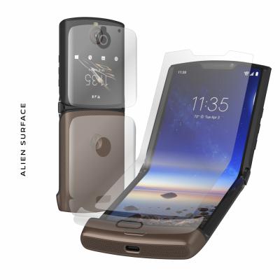 Motorola Razr folie protectie Alien Surface