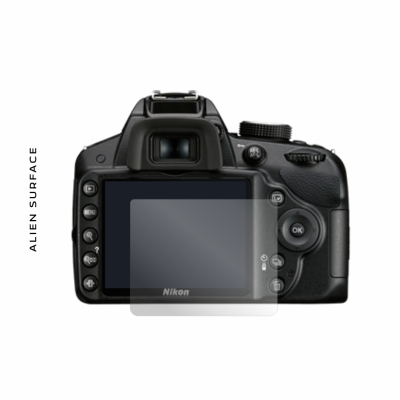 Nikon D3100 folie protectie Alien Surface