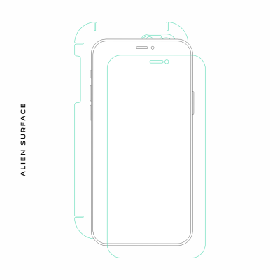 Vodafone Smart Ultra 6 folie protectie Alien Surface