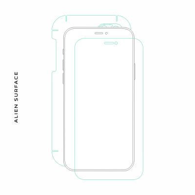 Huawei P50 folie protectie Alien Surface