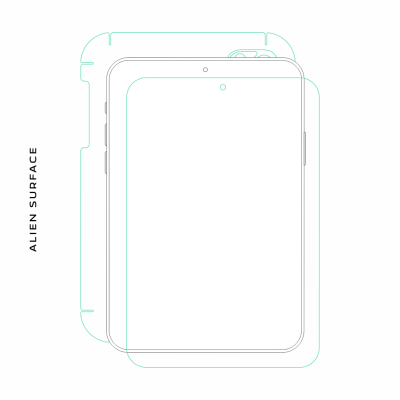 Sony Xperia Z2 Tablet folie protectie Alien Surface